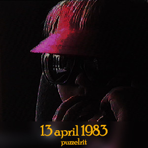 13 april 1983 - puzzelrit