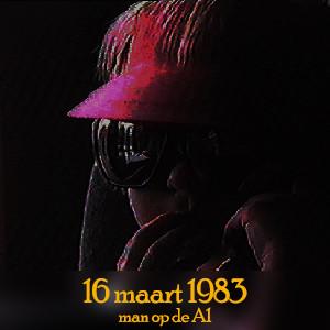 16 maart 1983 - man A1