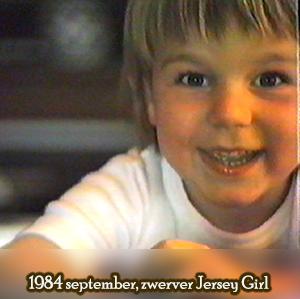 Weeshuis van de Hits september 1984 (zwerver New Jersey Girl)