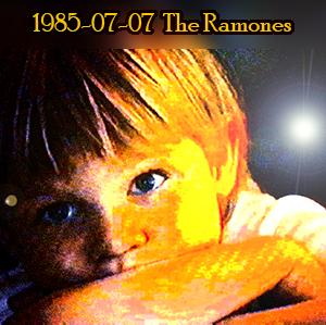 Weeshuis van de Hits 7 juli 1985 (Met de Ramones in de bus)