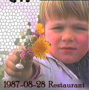 Weeshuis van de Hits 28 augustus 1987 (Restaurant-uitzending)