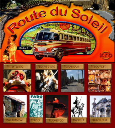 Route du Soleil 1 juli 2001 (Nederland)