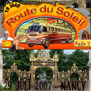 Route du Soleil 29 juli 2007 (Domremy)