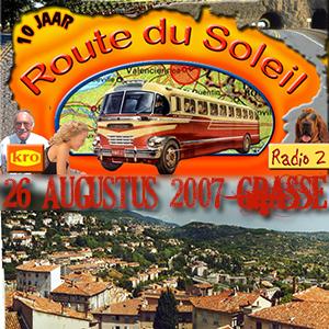 Route du Soleil 26 augustus 2007 (Grasse)