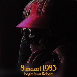 8 maart 1983 - begrafenis Robert