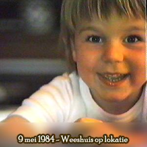 Weeshuis van de Hits 9 mei 1984 (Weeshuis op lokatie)