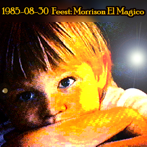 Weeshuis van de Hits 30 augustus 1985 (Feest, Morrison El Magico)