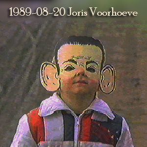 Weeshuis van de Hits 20 augustus 1989 (Joris Voorhoeve)