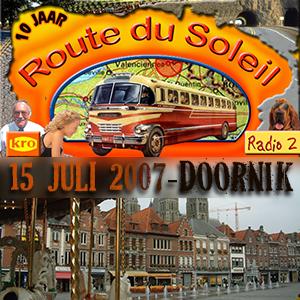 Route du Soleil 15 juli 2007 (Doornik)