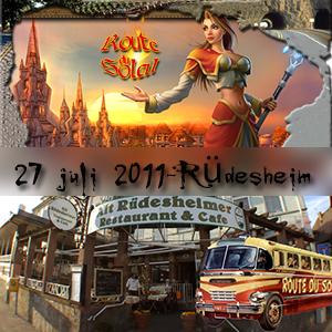 Route du Soleil juli 2011 (Rüdesheim)