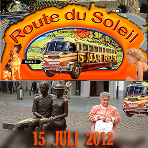 Route du Soleil 15 juli 2012 (Ardennen)