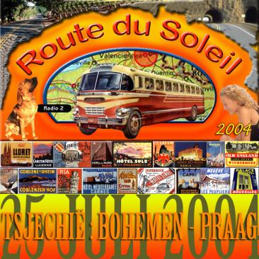Route du Soleil 25 juli 2004 (Tsjechië)