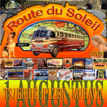 Route du Soleil 1 augustus 2004 (Tsjechië)