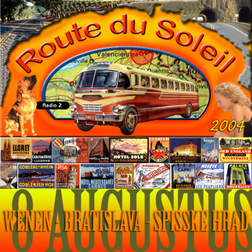 Route du Soleil 8 augustus 2004 (Slowakije)