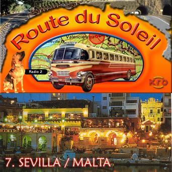 Route du Soleil 12 augustus 2001 (Sevilla / Malta)