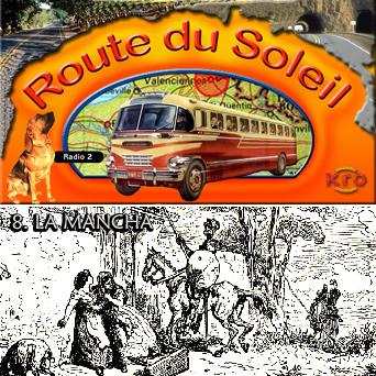Route du Soleil 19 augustus 2001 (La Mancha)