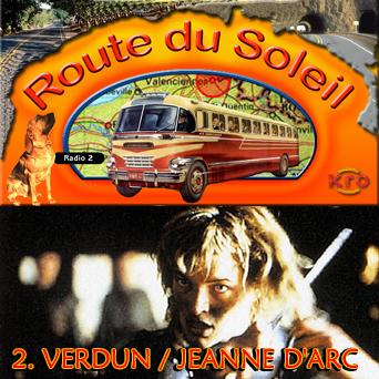 Route du Soleil 8 juli 2001 (Verdun / Jeanne d'Arc)